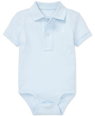 폴로 랄프로렌 Polo Ralph Lauren Baby Boys Cotton Interlock Bodysuit