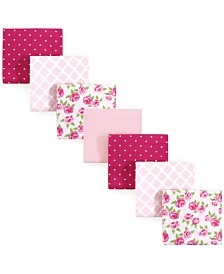 Hudson Baby Unisex Baby Flannel Receiving Blankets 7-Pack, One Size