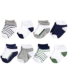 Yoga Sprout Unisex Baby Socks, 8-Pack, 0-24 Months