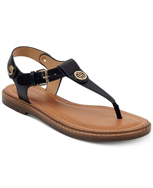 latest fashion speical offer new appearance Tommy Hilfiger Bennia Flat Sandals & Reviews - Sandals & Flip ...