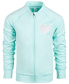Little Girls Heart Active Jacket, Created for Macy's