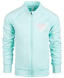 Ideology Little Girls Heart Active Jacket, Created for Macy's