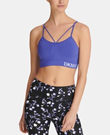 DKNY Sport Strappy Low-Impact Sports Bra