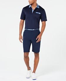 Greg Norman Men's Floral-Trim Shorts