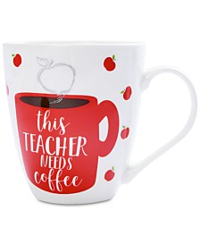 Pfaltzgraff Teacher Needs Coffee Mug