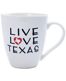 Pfaltzgraff Live Love Texas Mug