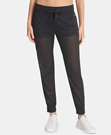 DKNY Sport Mesh Pants, Created for Macy's