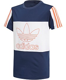 adidas Originals Big Boys Outline Logo T-Shirt
