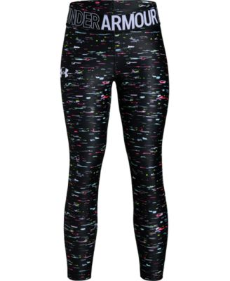 Girls' HeatGear® Armour Printed Ankle Crop