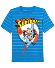 72fb333f8 DC Comics Big Boys Superman Son Of Krypton Stripe T-Shirt