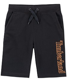 Timberland Big Boys Barrington Regular-Fit Logo-Print Drawstring Shorts
