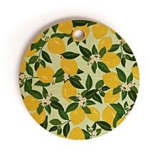 Deny Designs Vitamin C Round Cutting Board