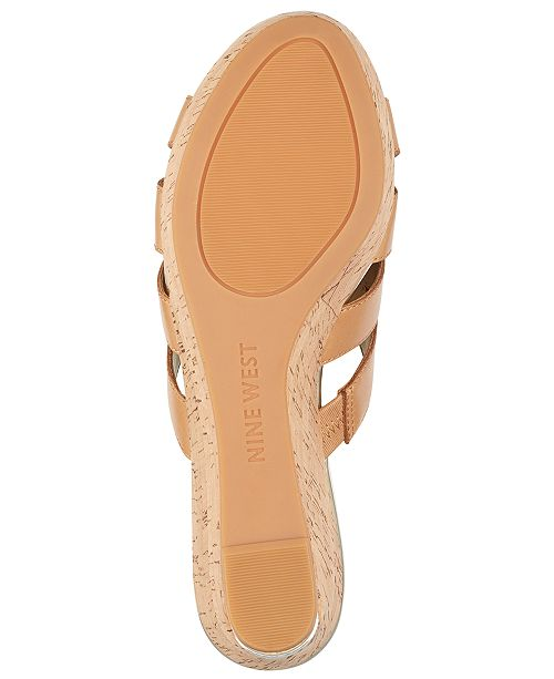 8536f466753 Nine West Victoria Platform Wedge Sandals   Reviews - Sandals   Flip ...