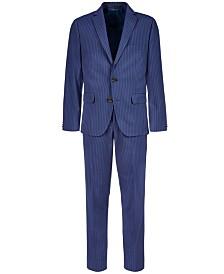 Lauren Ralph Lauren Big Boys Stretch Navy Stripe Suit Separates