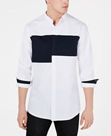 A|X Armani Exchange Men's Colorblocked Shirt