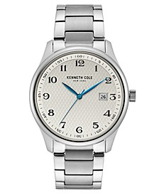 Kenneth Cole Men's Classic Stainless Steel Bracelet Watch 42mm