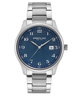 Kenneth Cole Men's Classic Stainless Steel Bracelet Watch 42mm