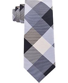Tommy Hilfiger Men's Bold Plaid Silk Tie