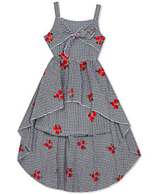Rare Editions Big Girls Embroidered Seersucker Cotton Dress