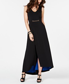 Thalia Sodi Belted-Detail Maxi Dress, Created for Macy's