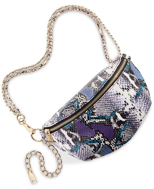 Steve Madden Kailin Python Belt Bag