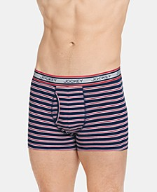 Men's Retro Stripe Trunks, Created for Macy's