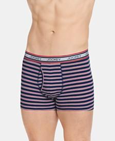 Jockey Men's Retro Stripe Trunks, Created for Macy's