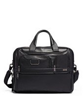 Tumi Alpha 3 Expandable Organizer Leather Laptop Brief 84b6c2d4a0355