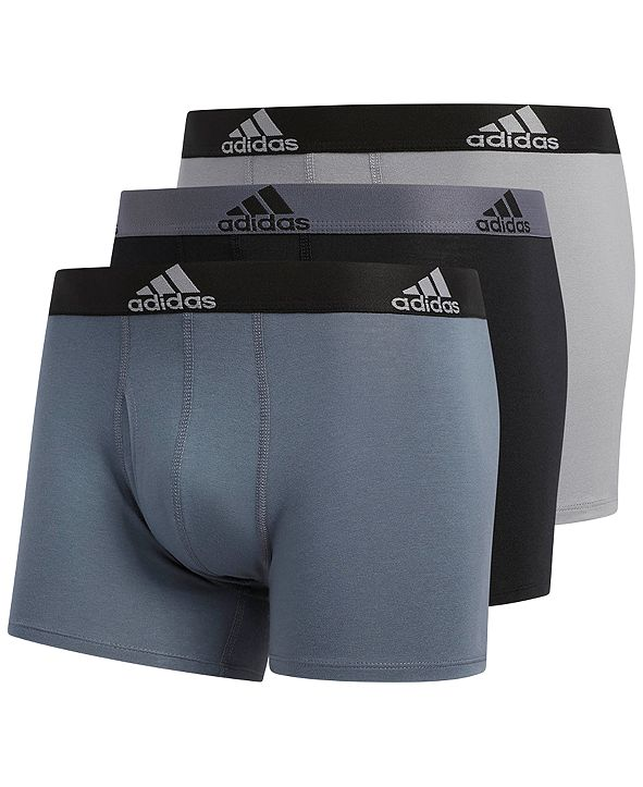 adidas Men's 3-Pk. Stretch Trunks