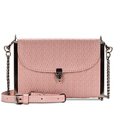 Patricia Nash Cardili Woven Leather Crossbody