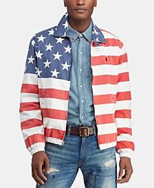 Polo Ralph Lauren Men's Bayport Flag Americana Windbreaker