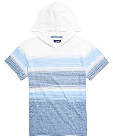 Univibe Big Boys Highland Stripe Hooded T-Shirt