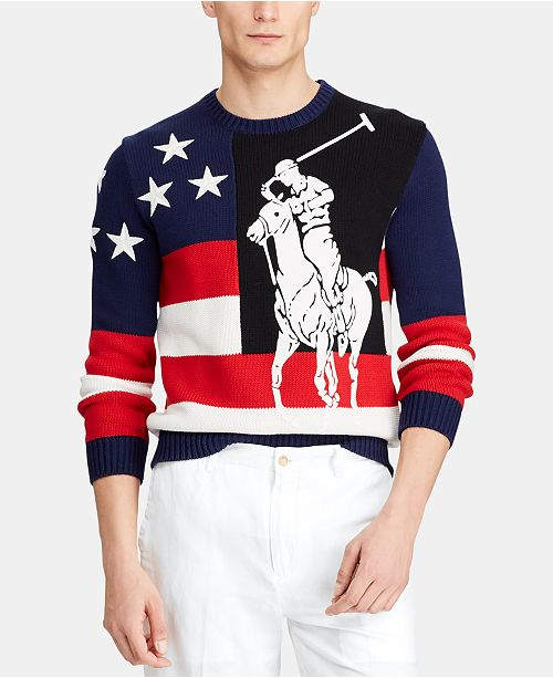 Men's Big Pony Americana Sweater