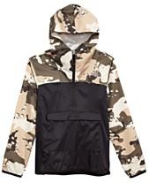 cced3502c2c0d The North Face Big Boys Camo-Print Fanorak Jacket