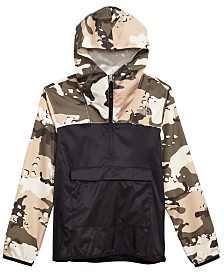 The North Face Big Boys Camo-Print Fanorak Jacket