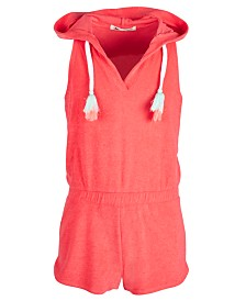 Miken Big Girls Hooded Terry Cover Up