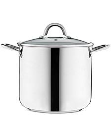12-Qt. Stainless Steel Stockpot with Lid, Created for Macy's