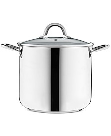Tools of the Trade 12-Qt. Stainless Steel Stockpot with Lid, Created for Macy's