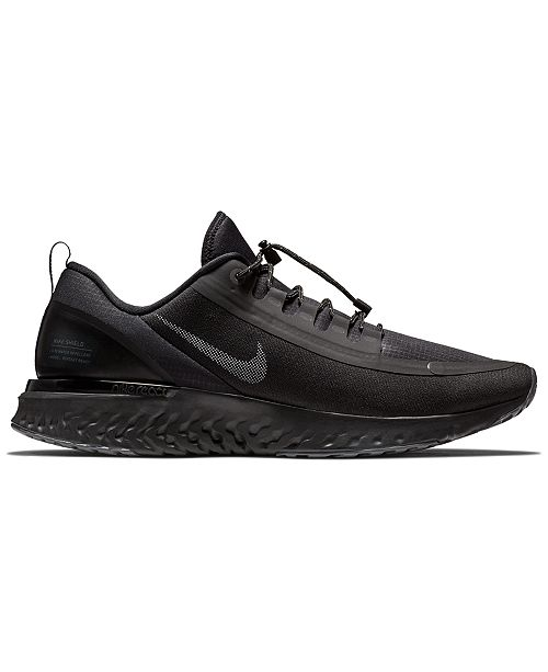 san francisco 82458 6d85a ... Nike Men s Odyssey React Shield Running Sneakers from Finish ...