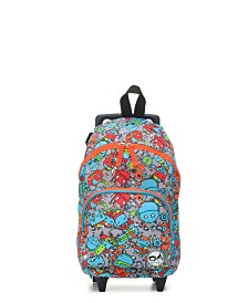 Babymel Zip & Zoe Kids Wheeled Mini Luggage Bag