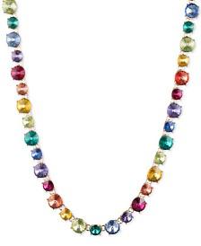 """Anne Klein Gold-Tone Rainbow All-Around Necklace, 16"""" + 3"""" extender"""