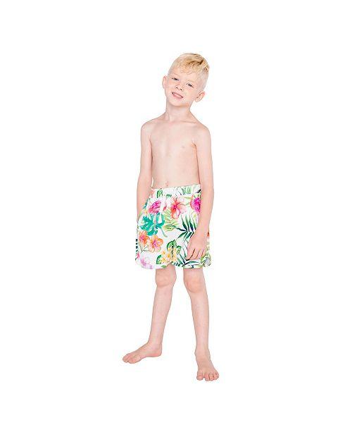 1653ab230e6b4 Masala Baby Swim Shorts Flamingo Island, 4Y - Swimwear - Women - Macy's