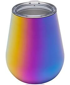 14-oz. Stainless Steel Stemless Wine Glass, Rainbow