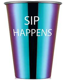 Sip Happens Rainbow Stainless Steel All-Purpose Cup