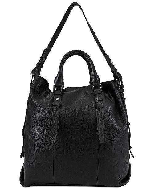 T Tahari Parker Leather Tote - Handbags   Accessories - Macy s 41b50c1c1f885