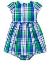 f30cc6cb79a Polo Ralph Lauren Baby Girls Tartan Dress. Quickview. 2 colors