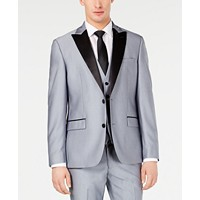 Ryan Seacrest Distinction Mens Slim-Fit Stretch Tuxedo Jacket Deals