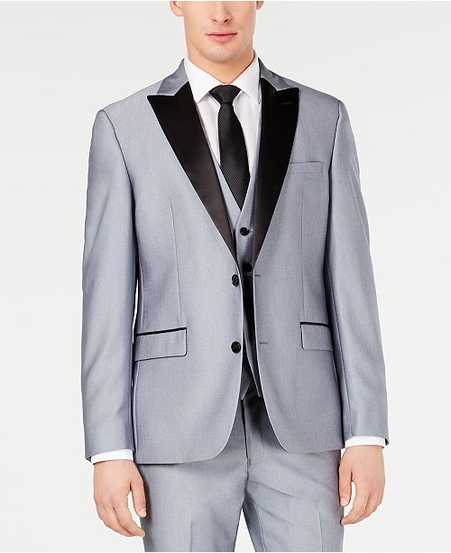 Ryan Seacrest Distinction Men's Slim-Fit Stretch Tuxedo Jacket, Created for Macy's