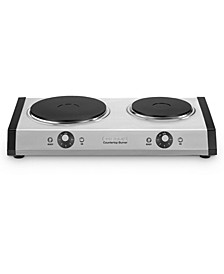 CB-60 Countertop Double Burner