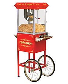 Elite Deluxe 8 Ounce Kettle Old Fashioned Popcorn Trolley